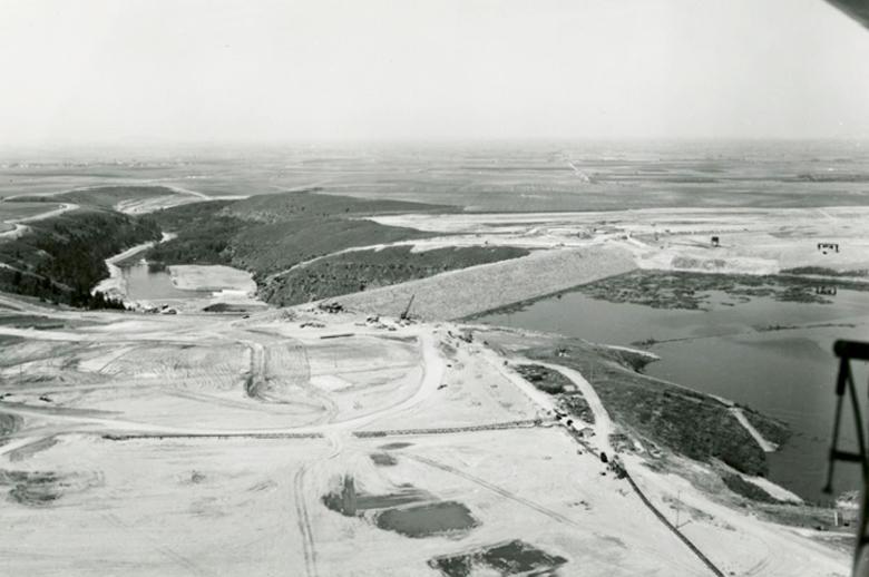 teton dam, downstream