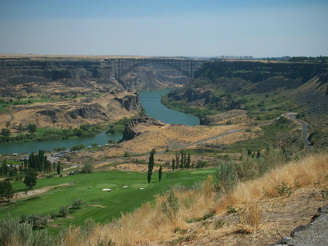 Perrine Bridge, Snake River Canyon, Gorge, Bonneville Flood, Randall Carlson