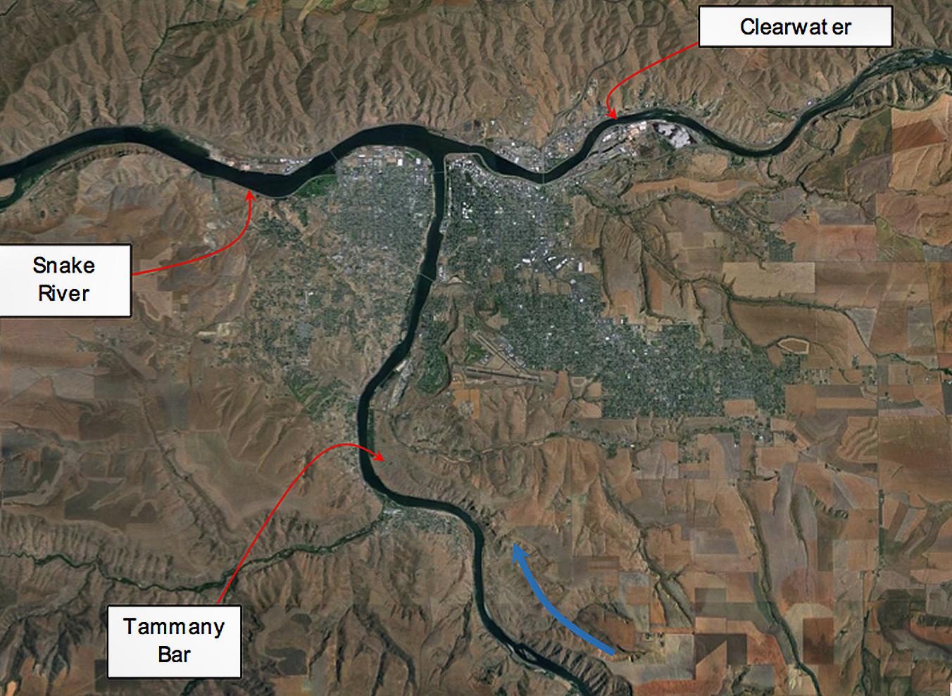 Tammany Bar, Bonneville Flood, Missioula Flood, San Bar, Scale Invariance, Geology , Lewiston, Idaho, Snake, Clarkston, Washington, River, Hell's Canyon
