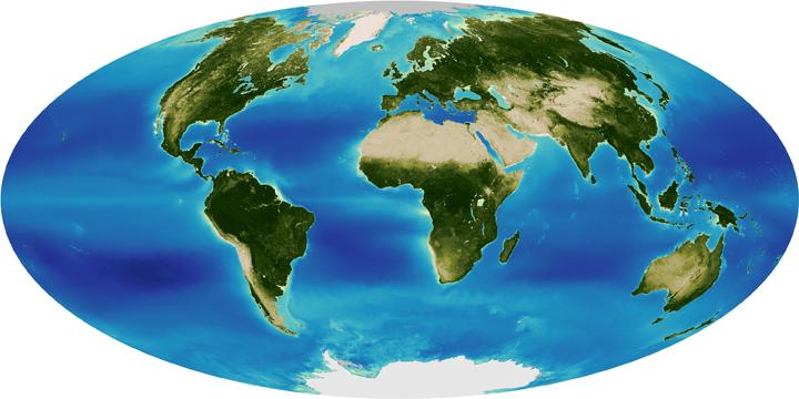 global, seawif, mission, greening, earth, nasa, globe, picture, satellite