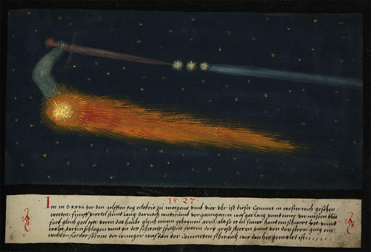 sword of damocles, comet,