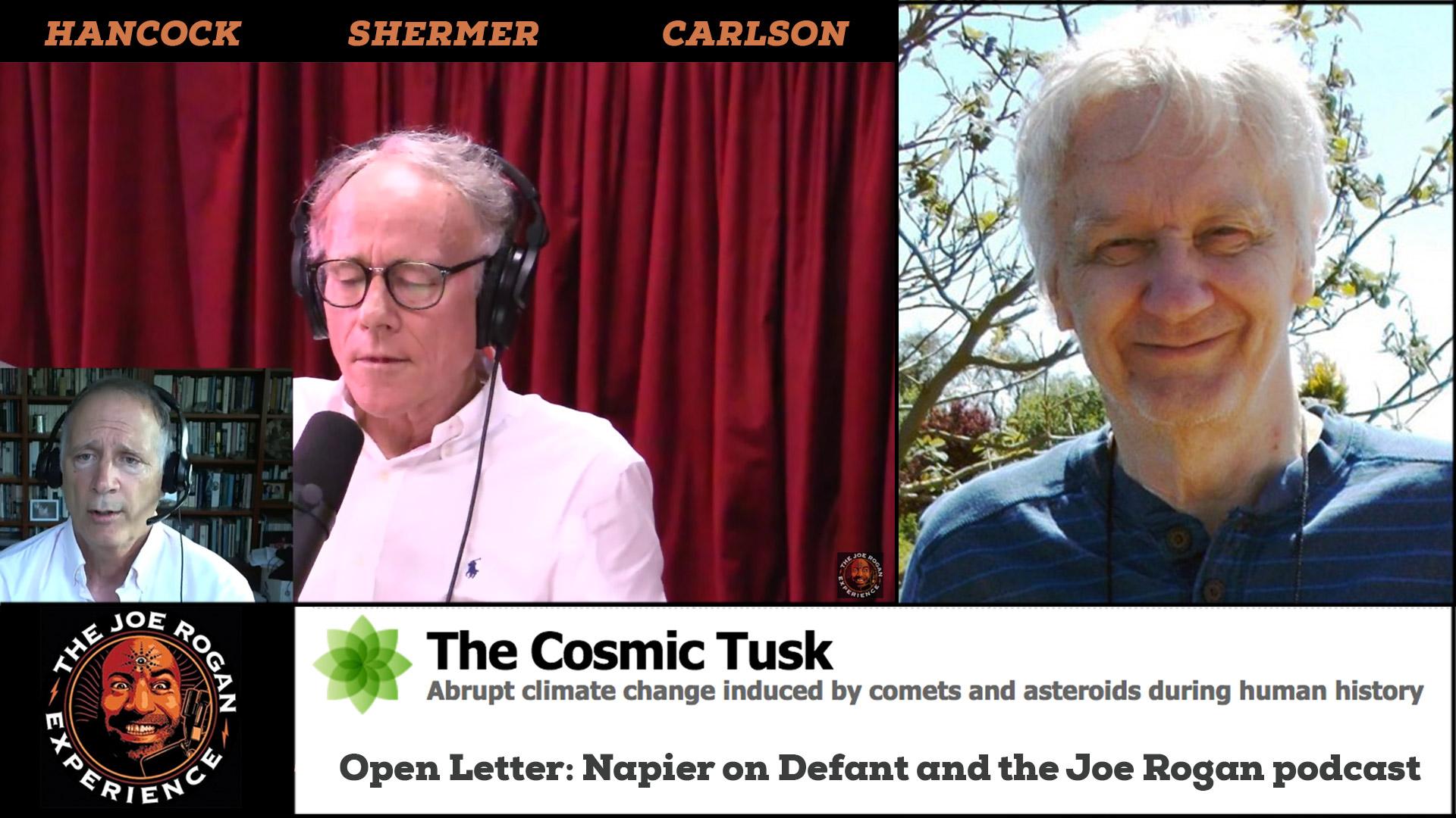 jre, bill napier, 961, open letter, responds, marc defant