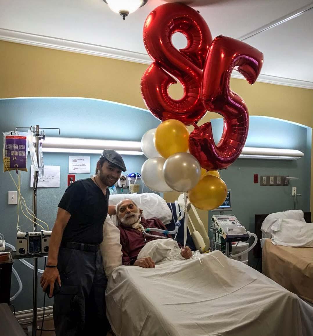 John, Anthony, West, Zeke, West, Healing, Hospital, 85th, Birthday