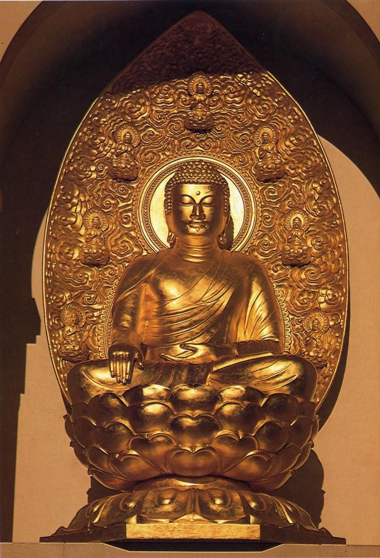 buddha, vesica pisces, cosmic almond, mystic almond, cosmic yoni, portal, gold, lotus, randall carlson, symbology