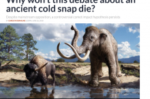 Science News Questions Science (RE: Younger Dryas Impact Hypothesis)