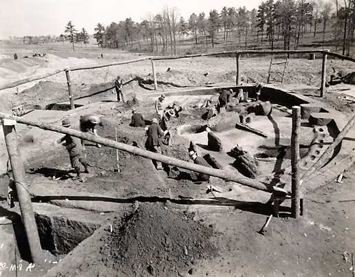 earth lodge, ocmulgee, reconstruction